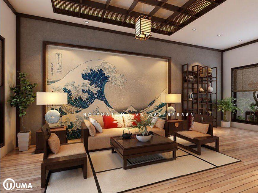 Căn hộ được thiết kế theo phong cách Nhật Bản