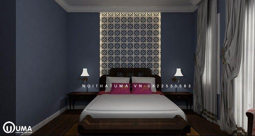 Sử dụng phong cách Á Đông vào không gian phòng ngủ