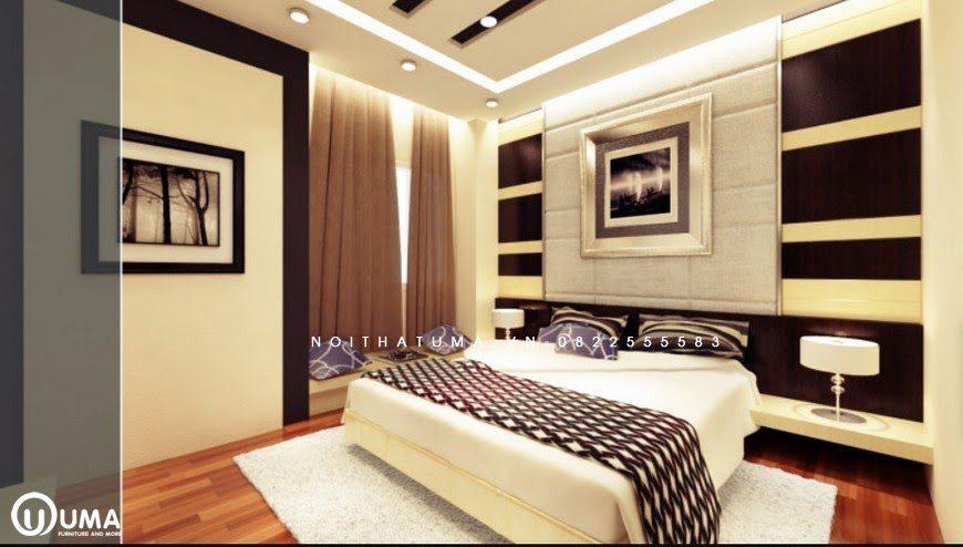 Không gian phòng ngủ với phong cách đương đại