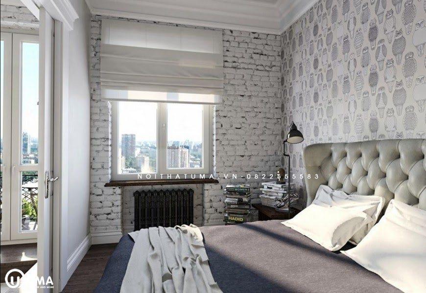 Phòng ngủ mang đậm phong cách Vintage