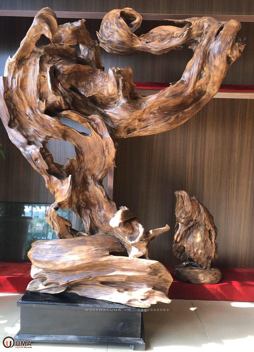 Gỗ lũa là gì? Ứng dụng của gỗ lũa trong nội thất?, , , Chất liệu, Tin Tức