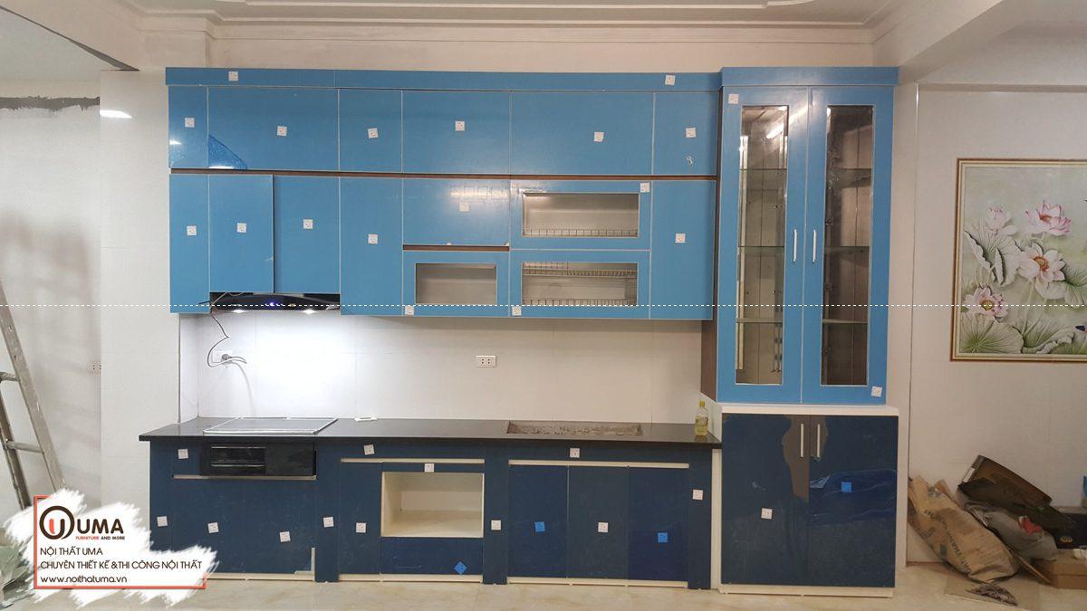 Công trình tủ bếp tại Imperia Sky Garden