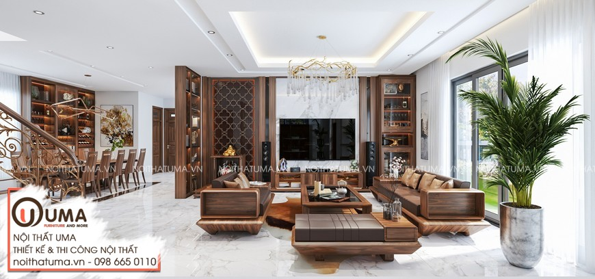 Thiết kế nội thất Biệt Thự tại Quảng Ninh