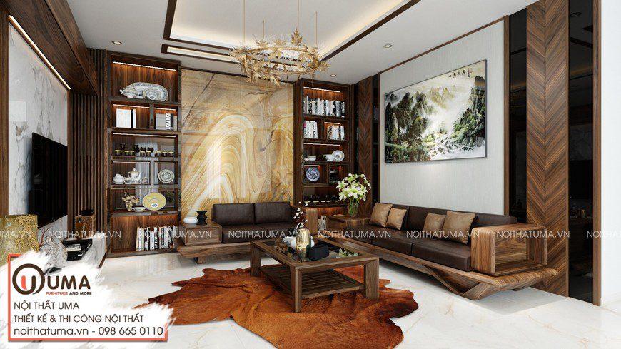 Thiết kế nội thất nhà mặt phố Chị Huyền- Hải Dương