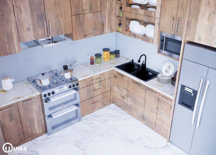 Tủ Bếp Nhựa Picomat