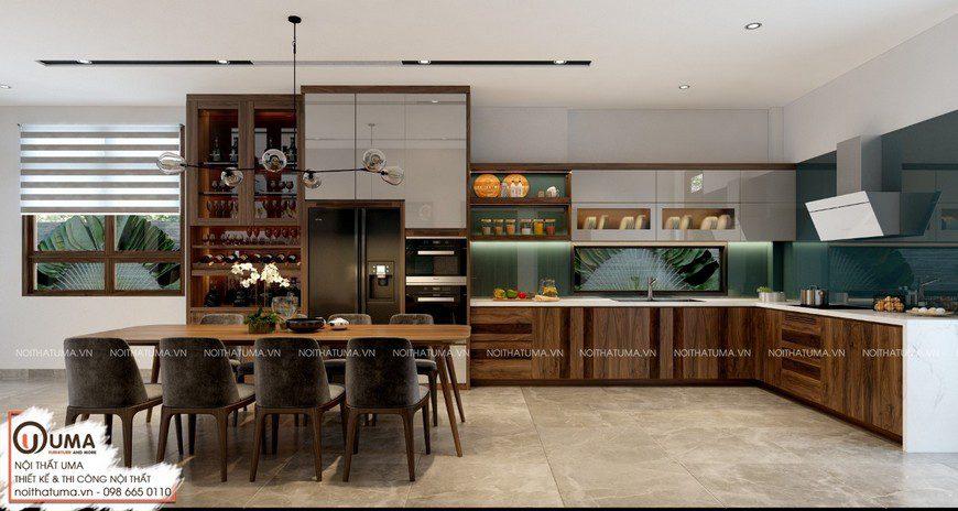 Tủ bếp Nattifi