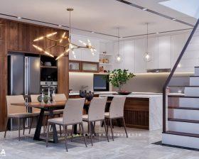 Tủ bếp Nattifi – UNA 12