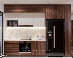 Tủ bếp Nattifi – UNA 11