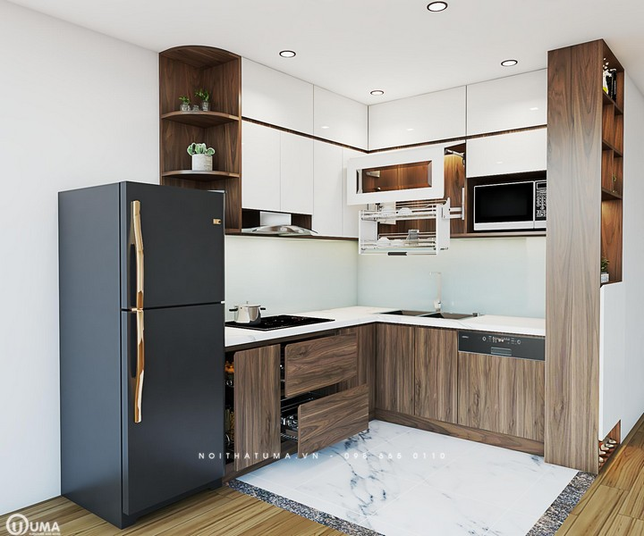 Tủ bếp Laminate – ULA 01