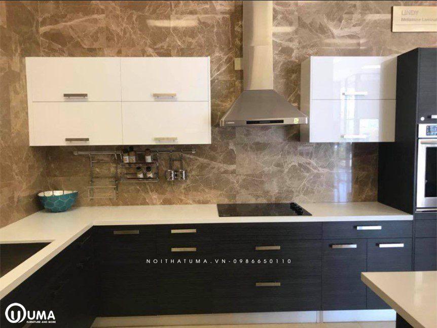 Phong cách thiết kế tủ bếp Brutalism