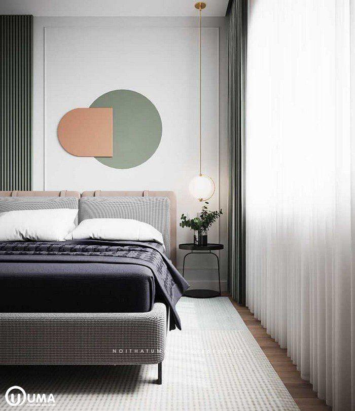 Bên cạnh đầu giường được trang bị cho mình với chiếc bàn