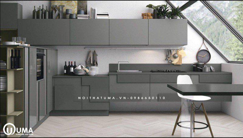 Phong cách thiết kế tủ bếp De Stijl