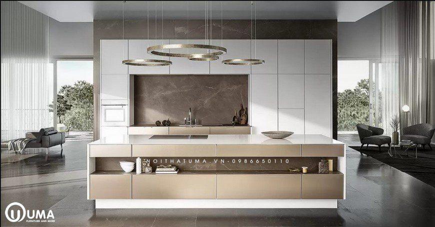 Phong cách thiết kế tủ bếp Streamlining