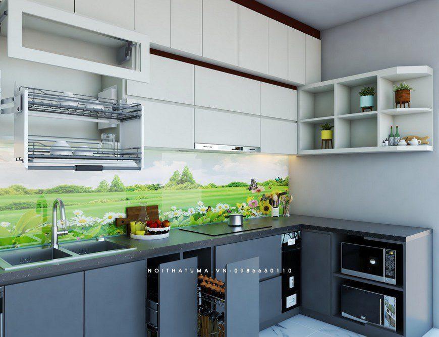 Tủ bếp Laminate - ULA 13