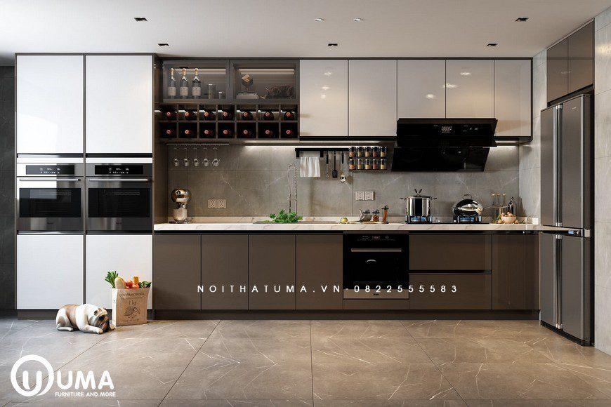 Tủ bếp Melamine – UML 31, Tủ bếp Melamine, ,