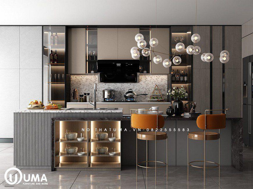 Tủ bếp Melamine – UML 33, Tủ bếp Melamine, ,
