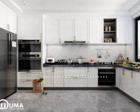 Tủ bếp Acrylic – UAC 47