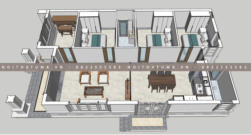 Nhà cấp 4 mái thái 1 tầng 180 m2 3 phòng ngủ tại Hải Phòng, nhà cấp 4 mái Thái 180 m2 3 phòng ngủ, , Nhà Cấp 4, Nhà cấp 4 mái thái