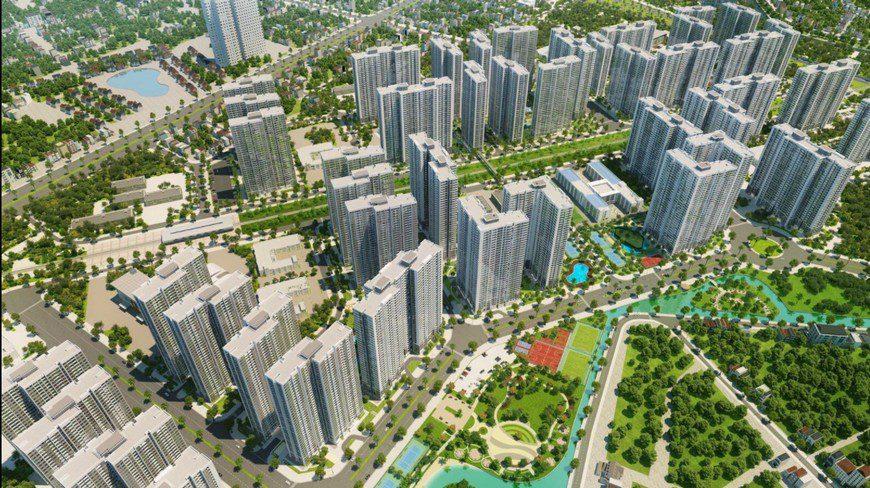 Thiết kế nội thất chung cư Vinhome Smart City 2 phòng ngủ nhà anh Chung
