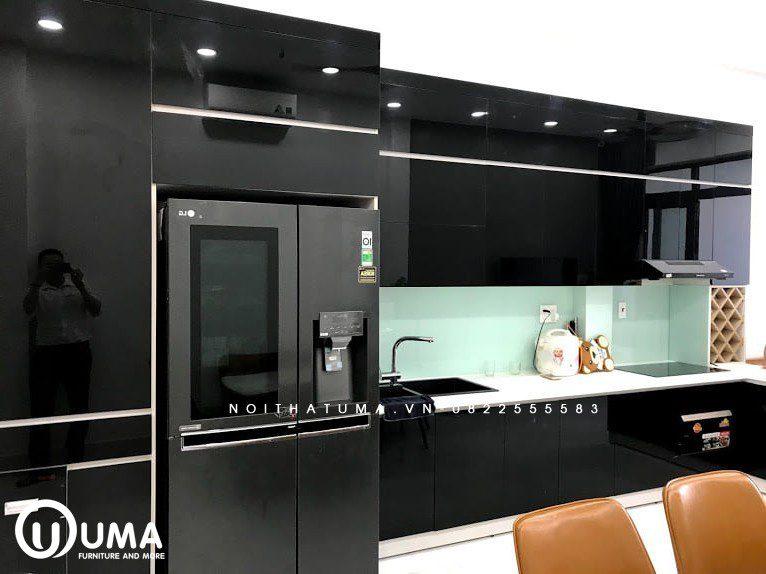 Tủ bếp Acrylic - UAC 35, Tủ bếp Acrylic, Tủ bếp Acrylic, Tủ bếp Acrylic